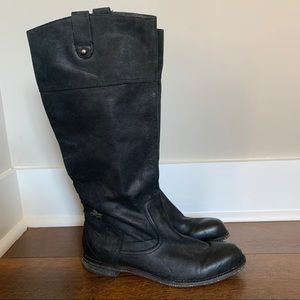 • otbt • petaluma black leather riding boots 10